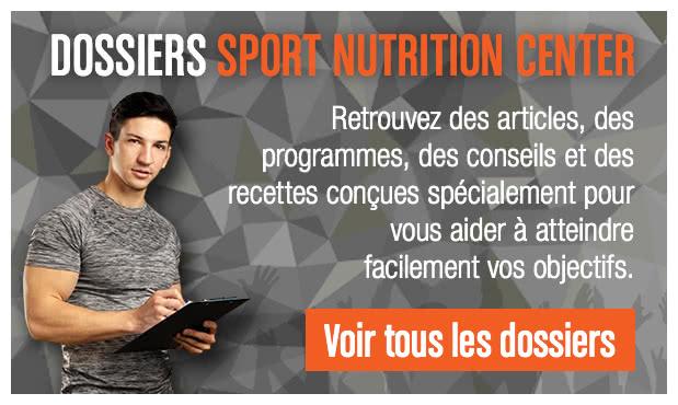 Dossiers Sport Nutrition Center